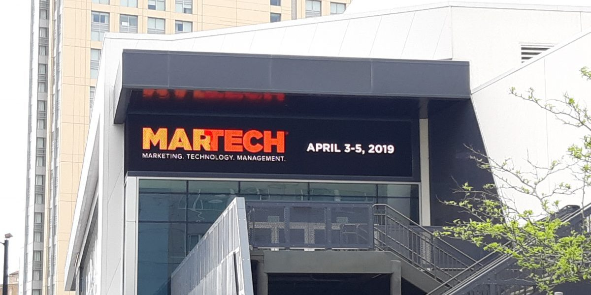 Lessons From Martech West 2019 – Pt. 1