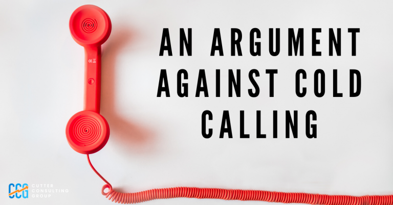 Read more about the article Why Cold Calls Are Wrong For Most Organizations