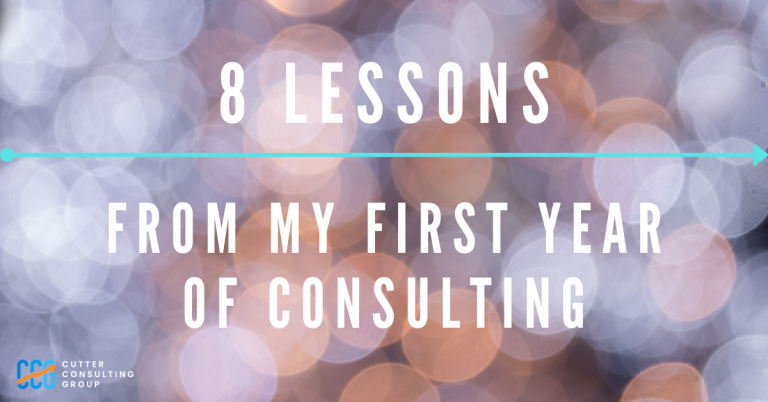 8 Lessons From My First Year Of Consulting