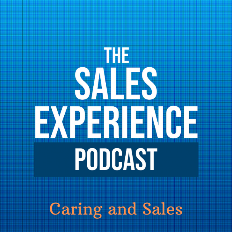 [E116] Where does caring fit into sales?