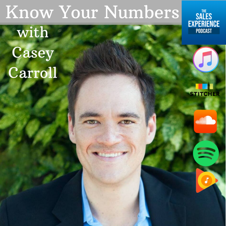 [E188] Know Your Numbers with Casey Carroll (Full)