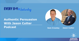 Read more about the article Every day is Saturday Podcast with Jason Cutter