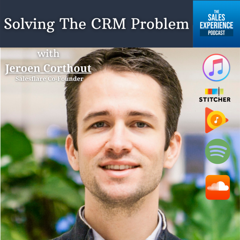 [E294] Solving The CRM Problem, with Jeroen Corthout (Part 4)