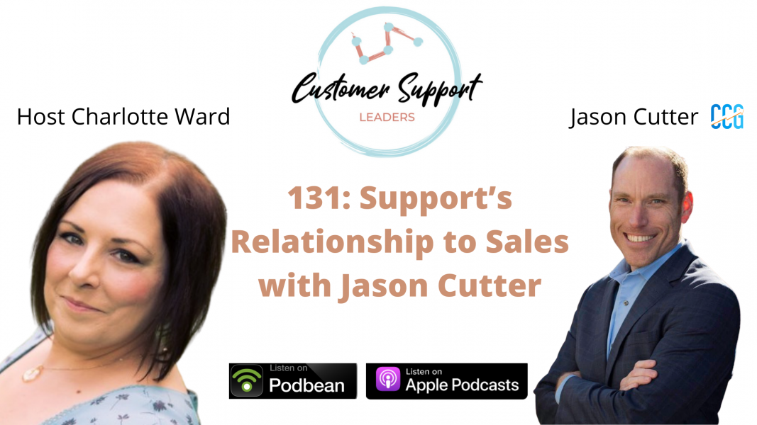 Customer Support Leaders Jason Cutter CCG Cutter Consulting Group