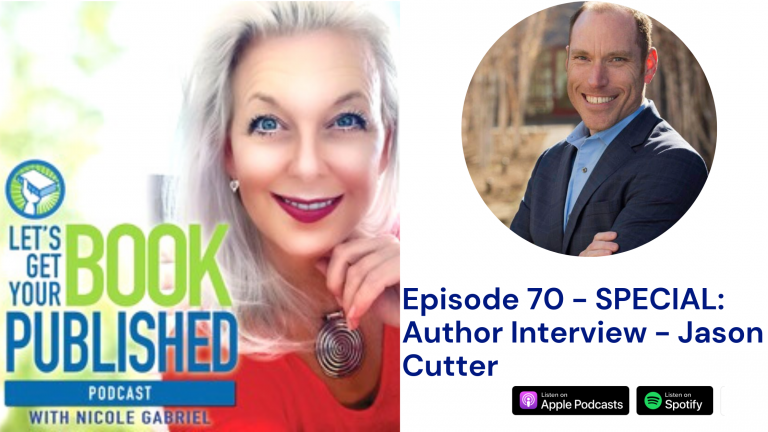Nicole Gabriel Lets Get Your Book Published Episode 70