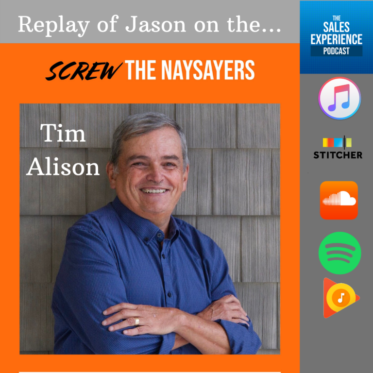 [Replay] Screw The Naysayers, with Tim Alison