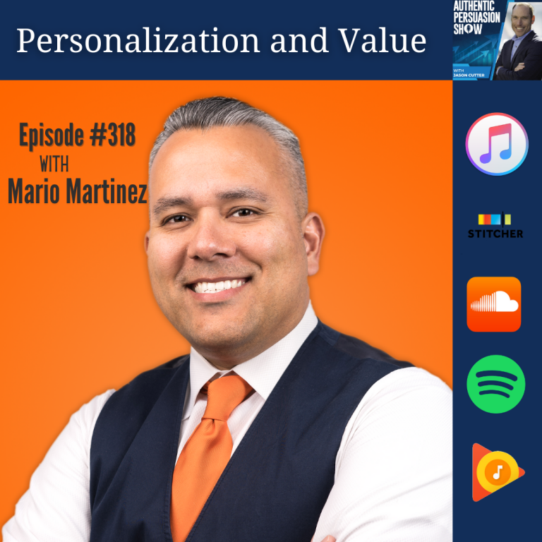 [321] Personalization and Value, with Mario Martinez Jr.