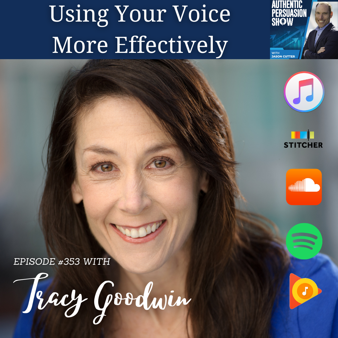 [353] Using Your Voice More Effectively, with Tracy Goodwin
