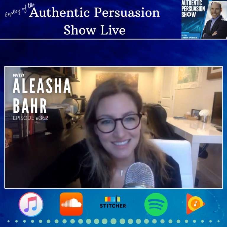 [362] APS Live with Aleasha Bahr