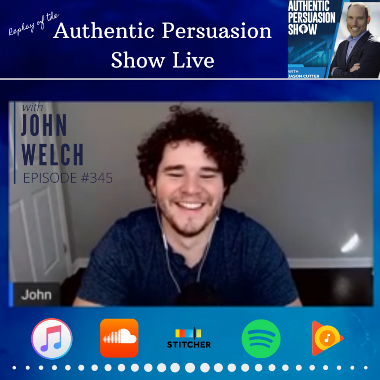[345] APS Live with John Welch (Replay)