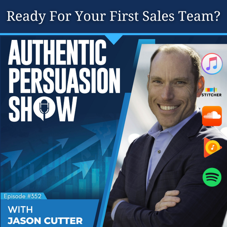[352] Ready For Your First Sales Team?