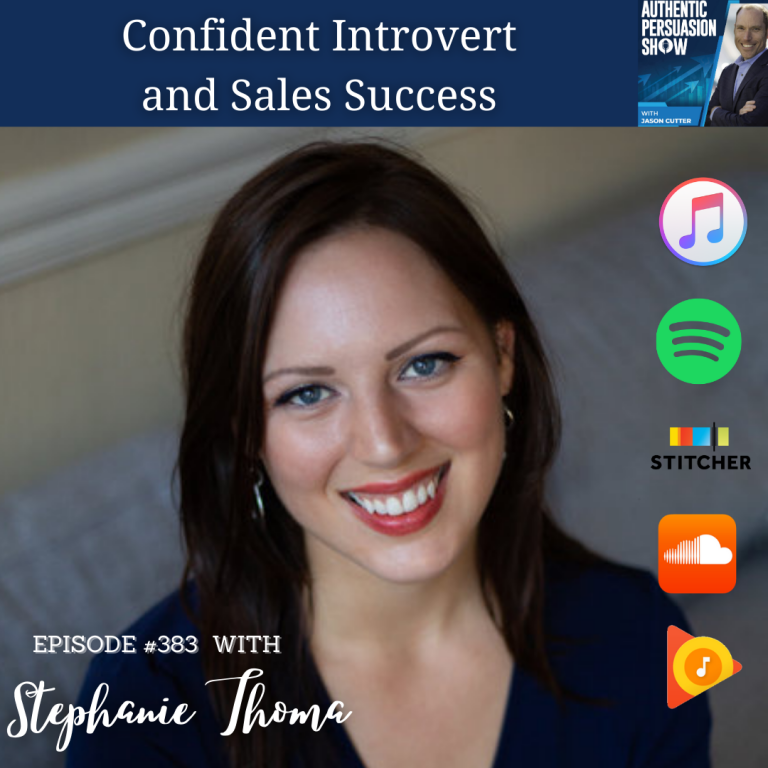 [383] Confident Introvert and Sales Success, with Stephanie Thoma