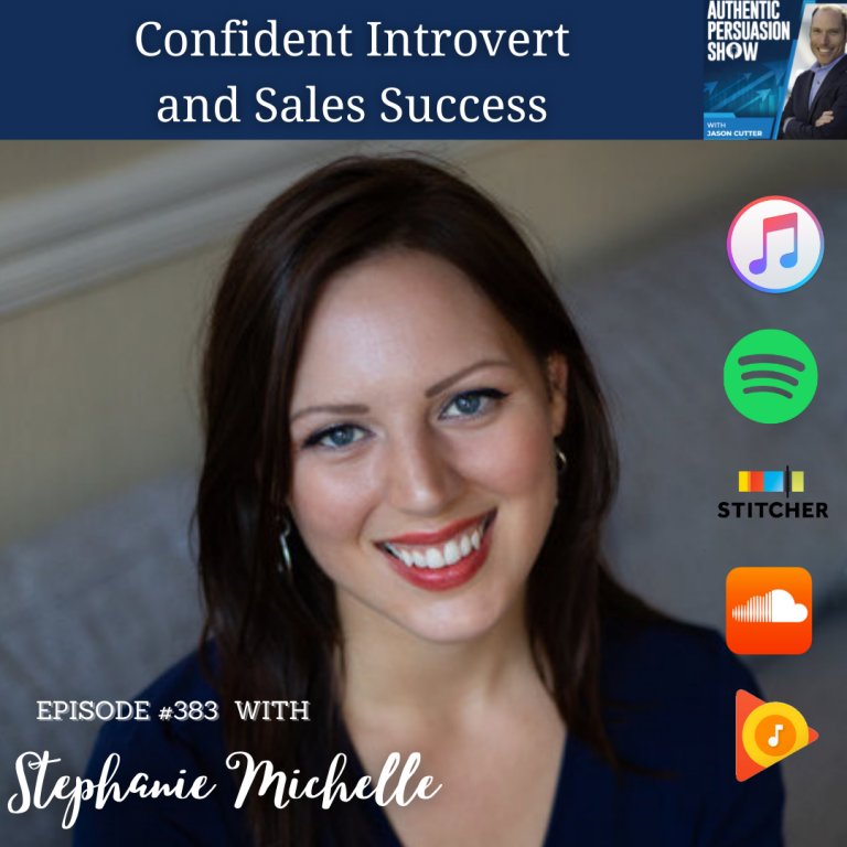 Read more about the article [383] Confident Introvert and Sales Success, with Stephanie Michelle