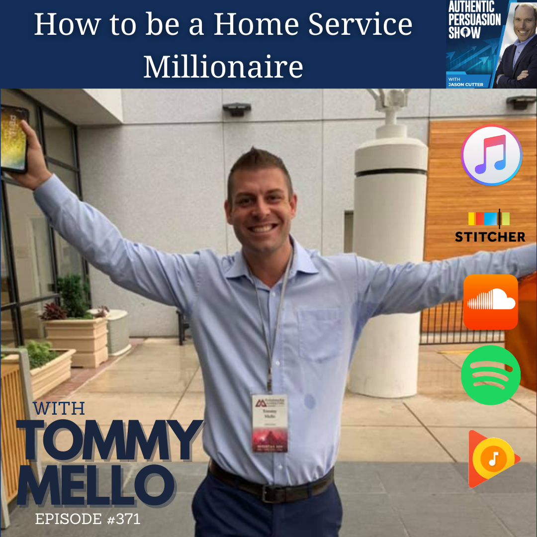 [371] How to be a Home Service Millionaire, with Tommy Mello