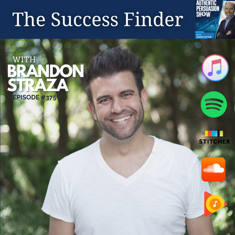 [375] The Success Finder, with Brandon Straza
