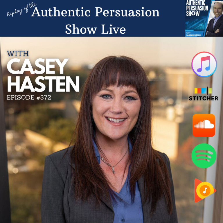 [372] APS Live with Casey Hasten (Replay)