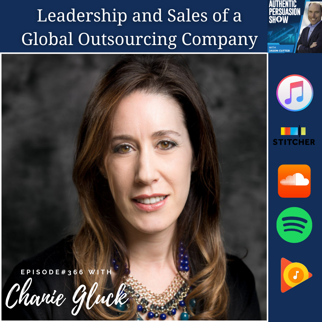 [366] Leadership and Sales of a Global Outsourcing Company, with Chanie Gluck