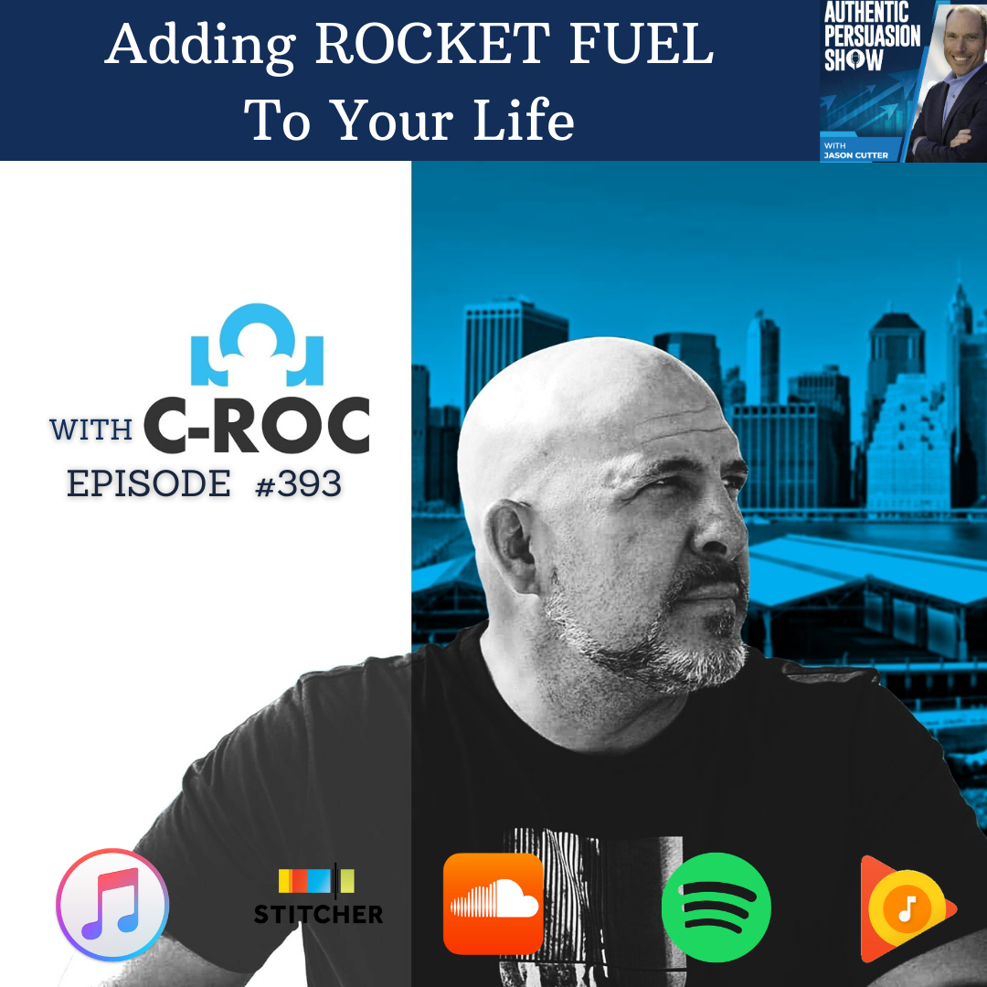 [393] Adding ROCKET FUEL to your life, with C Roc