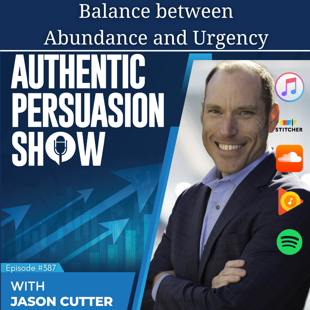 You are currently viewing [387] Balance Between Abundance and Urgency