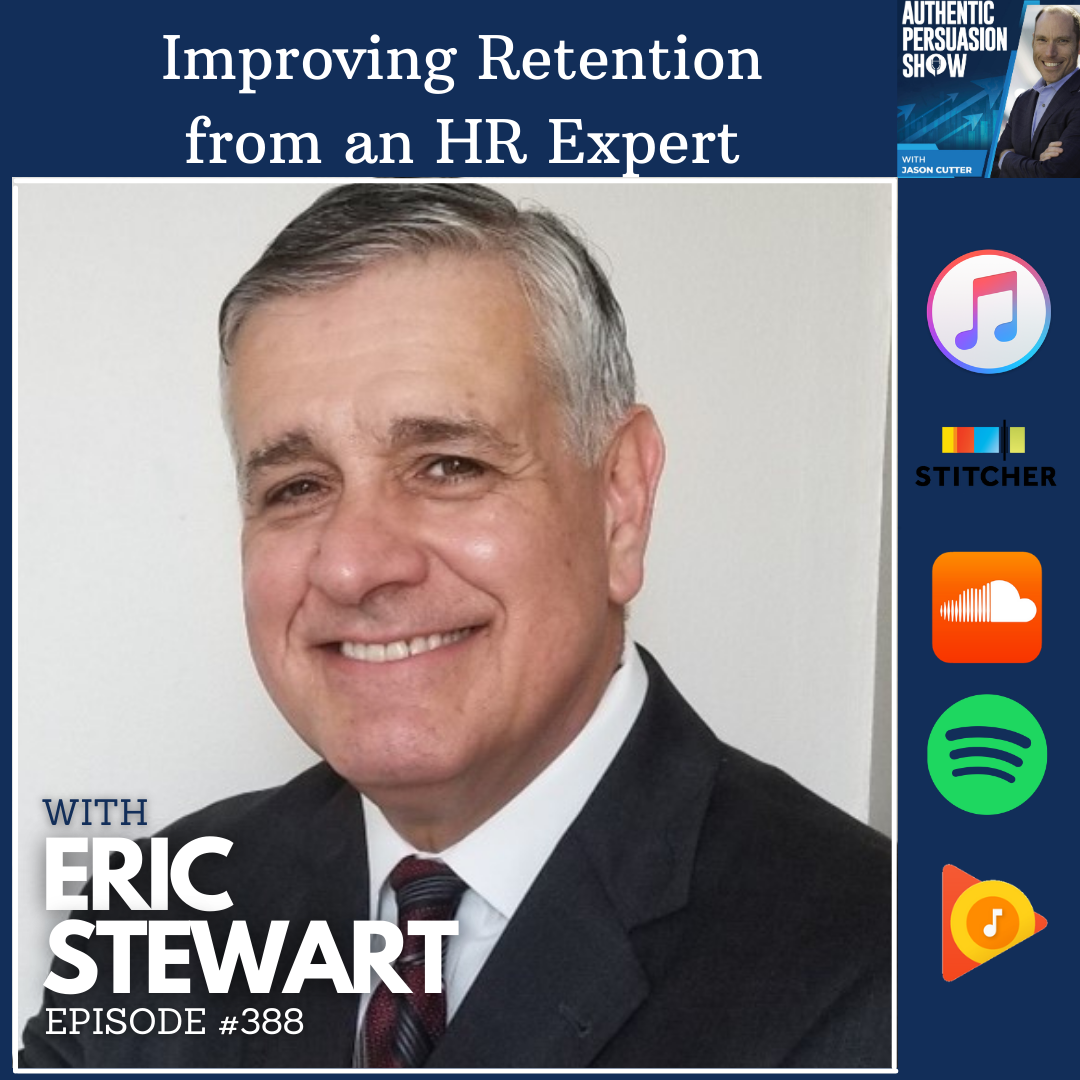 [E388] Improving Retention from an HR Expert, with Eric Stewart