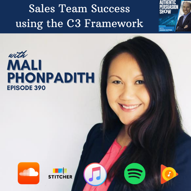 [390] Sales Team Success using the C3 Framework, with Mali Phonpadith