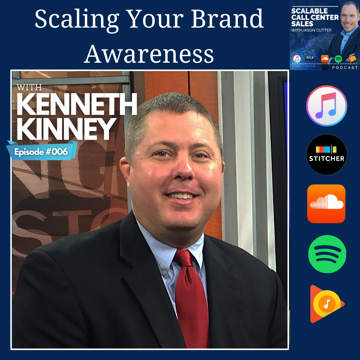 """You are currently viewing [006] Scaling Your Brand Awareness, with Kenneth """"Shark"""" Kinney"""