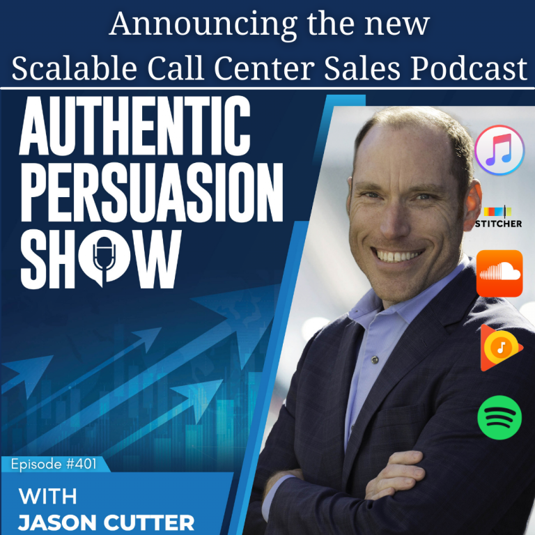 Read more about the article [401] Announcing the new Scalable Call Center Sales Podcast