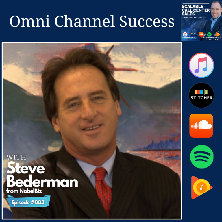 Read more about the article [003] Omni Channel Success, with Steve Bederman from NobelBiz