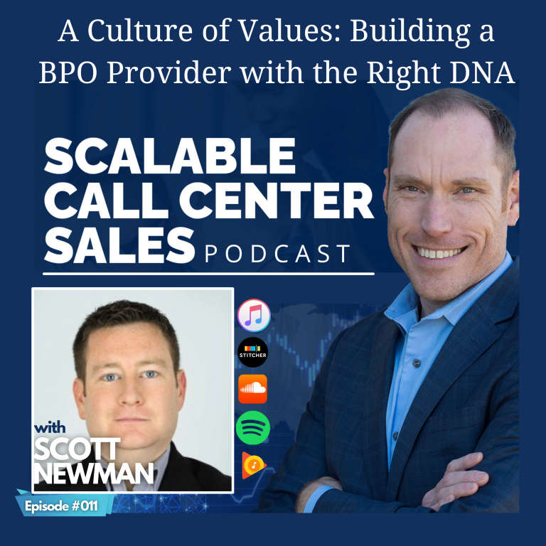 Read more about the article [011] A Culture of Values: Building a BPO Provider with the Right DNA, with Scott Newman from Transparent BPO