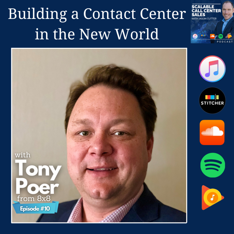 Read more about the article [010] Building a Contact Center in the New World, with Tony Poer from 8×8