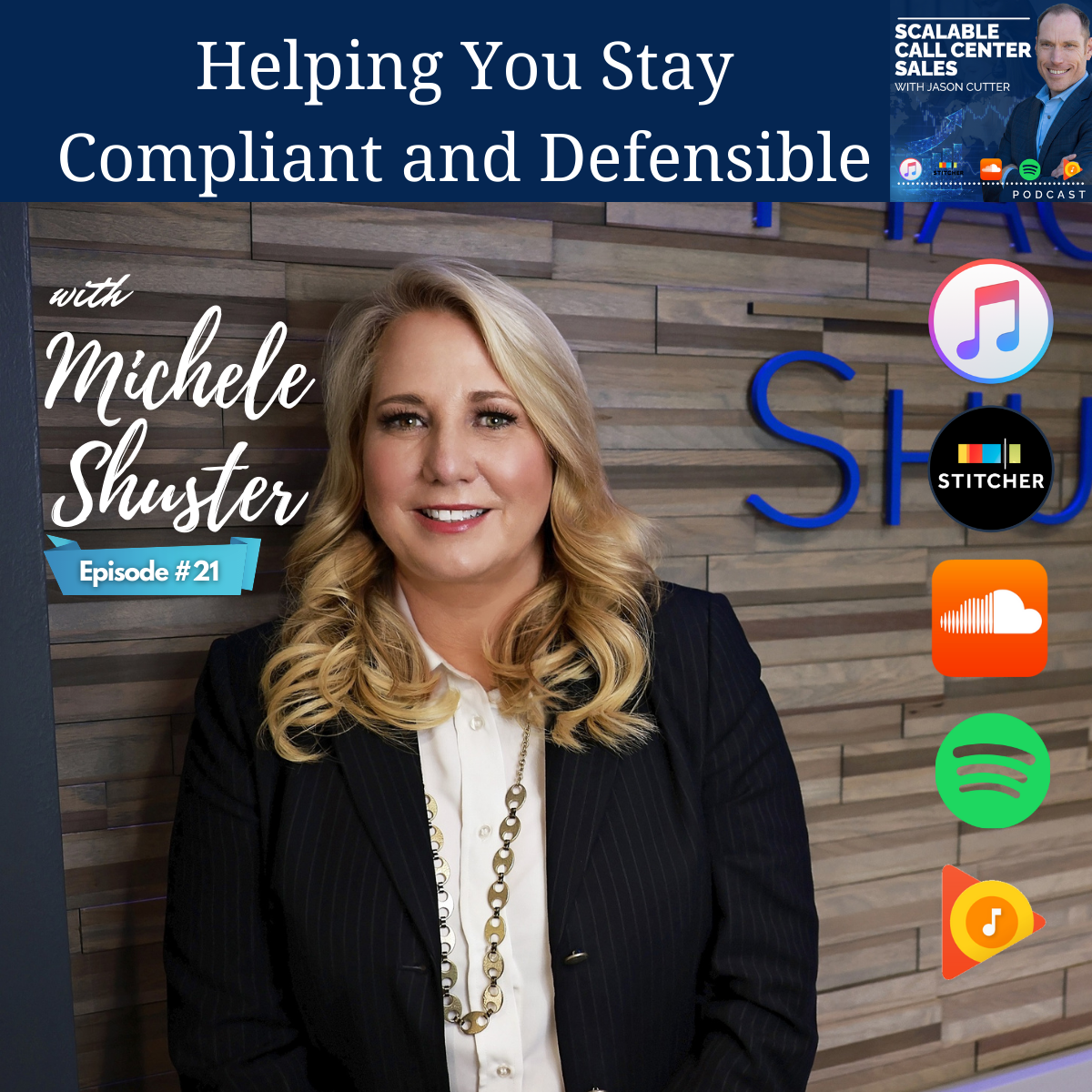 You are currently viewing [E021] Helping You Stay Compliant and Defensible, with Michele Shuster from Mac Murray and Shuster, LLP