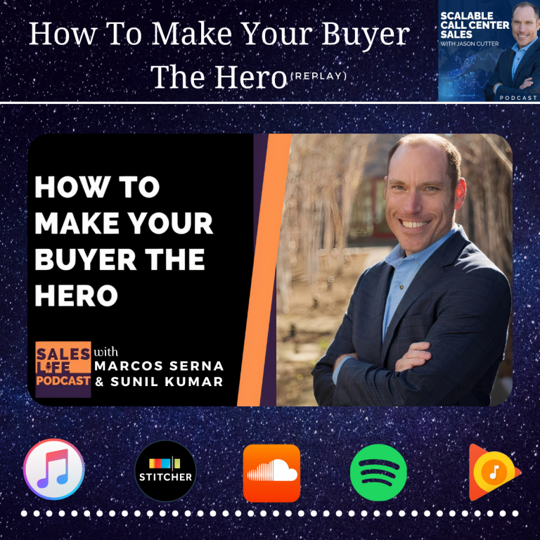 Read more about the article [031] How To Make Your Buyer The Hero – Saleslife Podcast (Replay)
